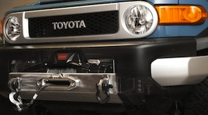 US Off Road  - FJ Cruiser OEM Winch Mount